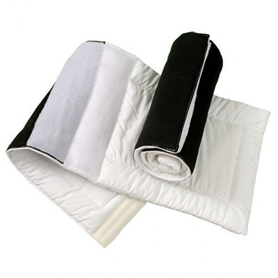 White and Black Deluxe Combo Leg Wraps