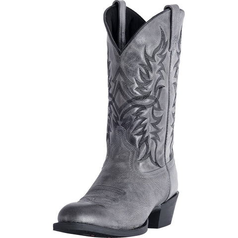 Laredo Men's Grey Harding Round Toe Boot
