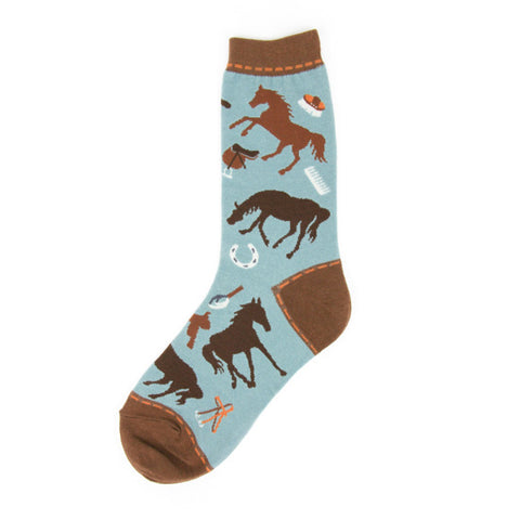 Women's Equine Socks