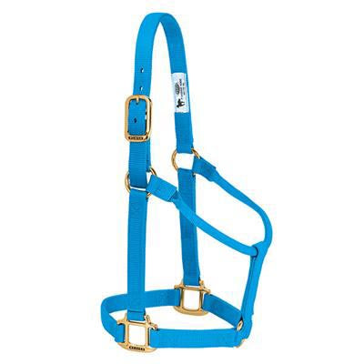 Weaver Non Adjustable Hurricane Blue Nylon Halter
