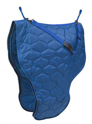 Blue Insulated Saddle Carrier Bag