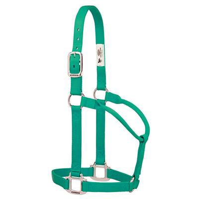 Weaver Small Emerald Nylon Halter