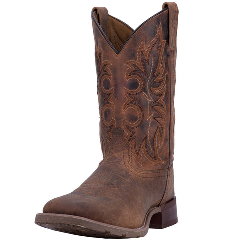 Laredo Men's Rust Durant Rancher Broad Square Toe Boot