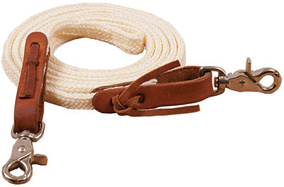 Flat Braided Poly Roping Reins