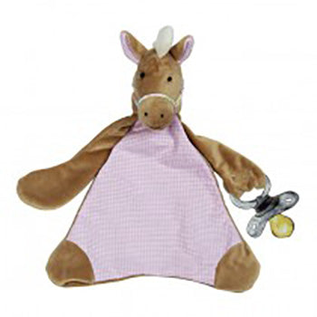 Horse Pacifier Blankie