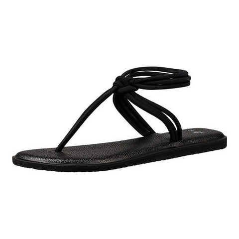 Sanuk Women's Black Sunshine Sandal