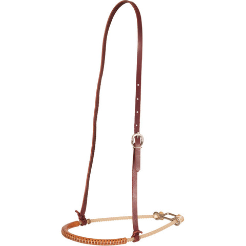 Oxbow Single Rope Leather Covered Tiedown