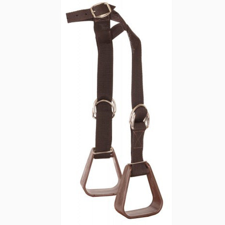 Mustang Brown Kiddy-Up Stirrups