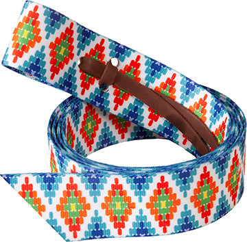 Mustang Beaded Print Cinch Strap
