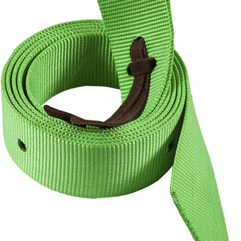 Mustang Nylon Lime Green Cinch Strap