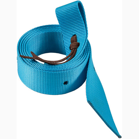 Mustang Turquoise Nylon Tie Strap
