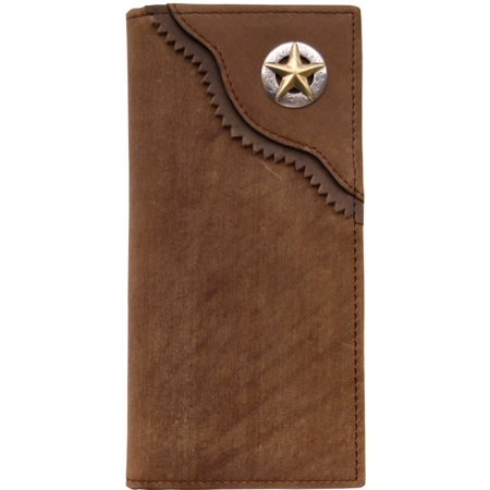 Brown Distressed Rodeo Wallet