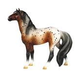 Breyer - Bay Appaloosa Mustang