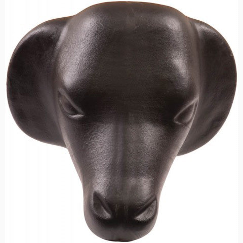 Mustang Black Calf Head