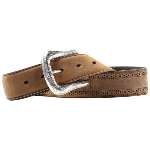 Arait Men's Distressed Leather Belt