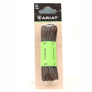 "Ariat® 54"" Brown Waxed Laces"