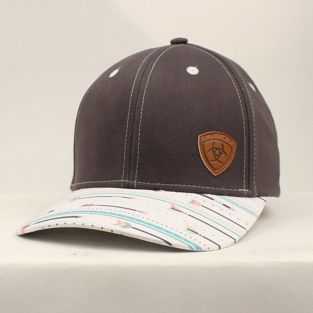 Aria Grey with Multi Colored Arrows Cap