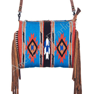American Darling Blanket with Fringe Crossbody