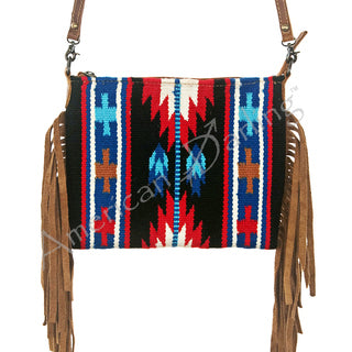 American Darling Blanket and Fringe Crossbody