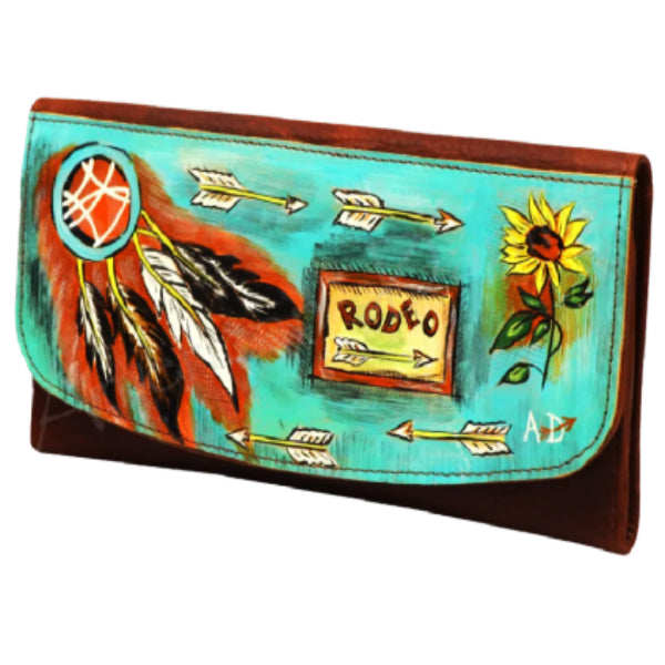American Darling Painted Rodeo Wallet