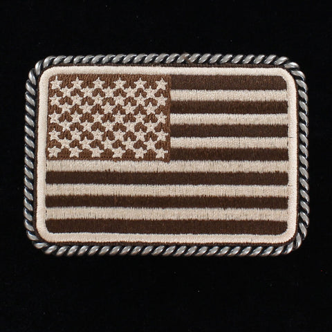 Ariat American Flag Patch Buckle