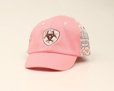 Ariat Infant Pink Aztec Cap