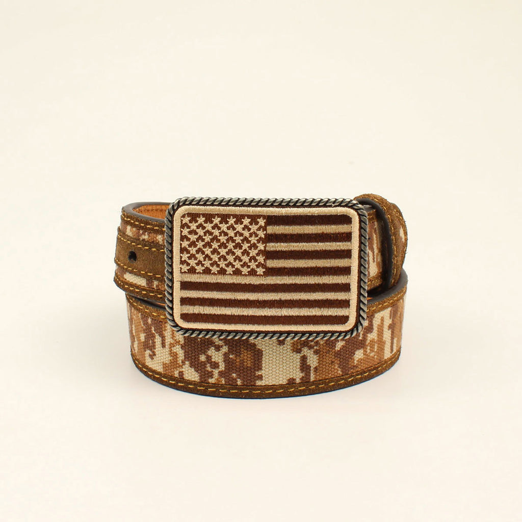 Ariat Boy's Digital Camo Belt