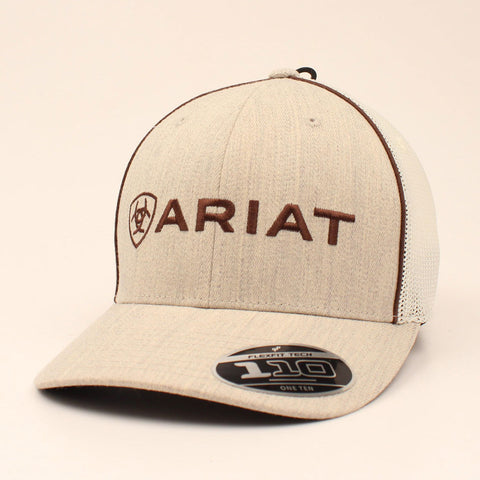 Ariat Brown and Khaki Cap
