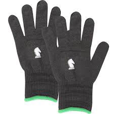 Classic Equine Black Barn Gloves