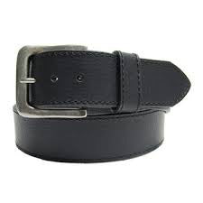 Men's Black Industrial Belt
