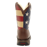 Durango Kid's Patriotic Square Toe Boots