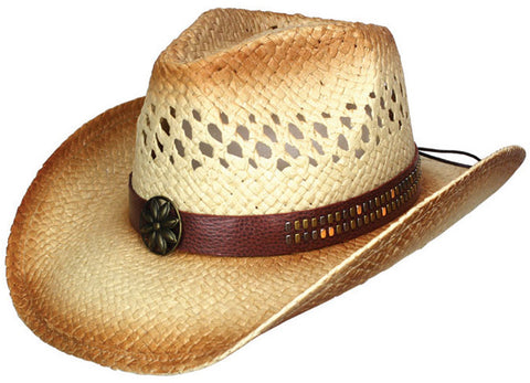 Dallas Hats Raffia Straw Hat