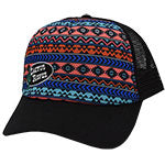 Cactus Gear Black and Aztec Mesh Cap