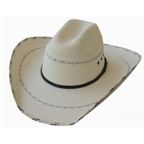Dallas Hats Cattleman Fine Palm Hat