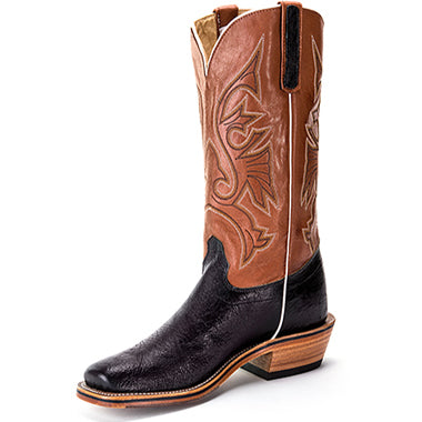 Olathe Boot Blk Smooth Ostrich