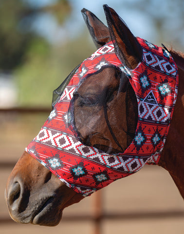 Fire Comfort Fly Mask Small Horse/Cob