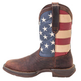 Durango Men's Patriotic Flag Square Toe Boots