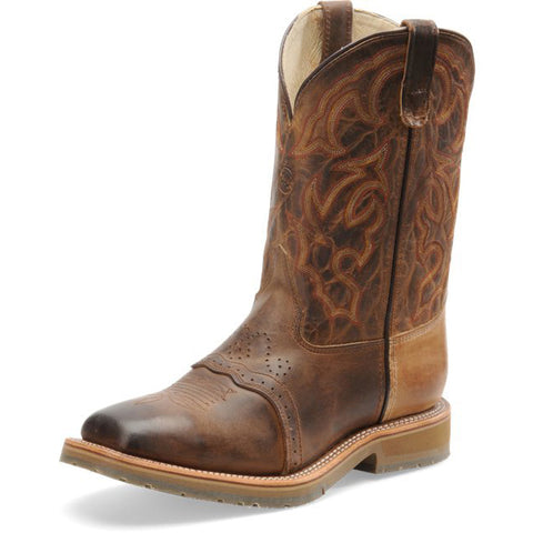 Double H Men's Dwight Old Town Steel Wide Square Toe Roper