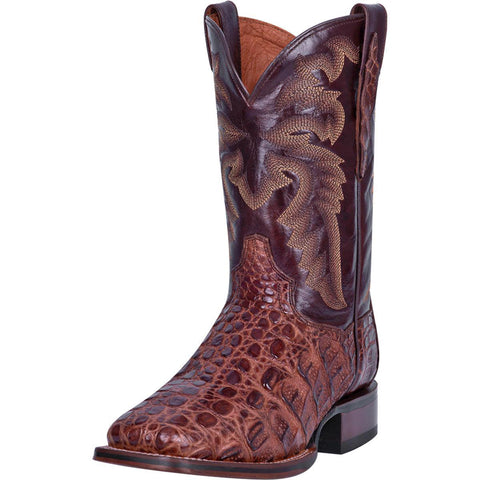 Dan Post Brass Caiman Square Toe Boot