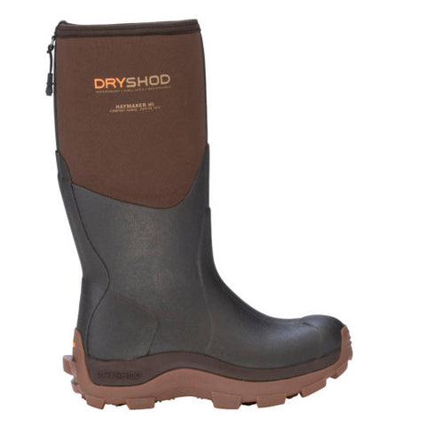 Dryshod Women's Brown Haymaker Waterproof High Boot