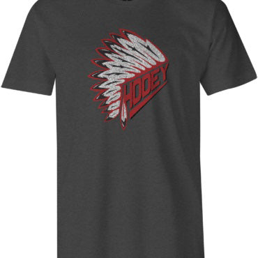Hooey Kid's Grey and Red Headdress Tee