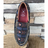 WE Exclusive ~ Twisted X Women's Grey Aztec Slip On Moc