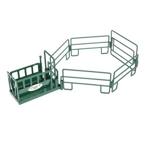 Little Buster Green Squeeze Chute Set