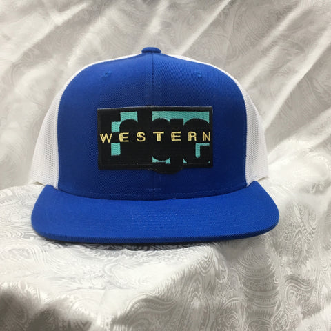 Western Edge Royal Blue Logo Cap