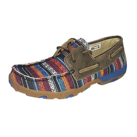 Twisted X Women's Serape Driving Moc