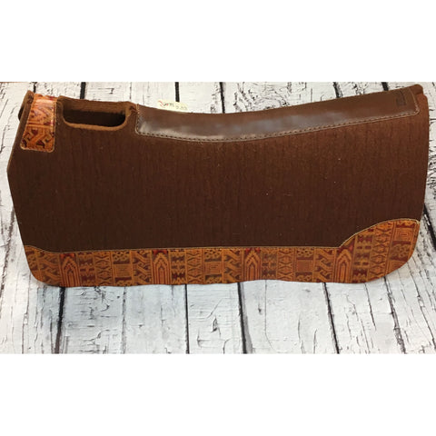 5 Star All Around Saddle Pad - Cinnamon/Orange Indiano
