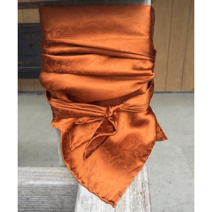 Wyoming Traders Jacquard Copper Wild Rag
