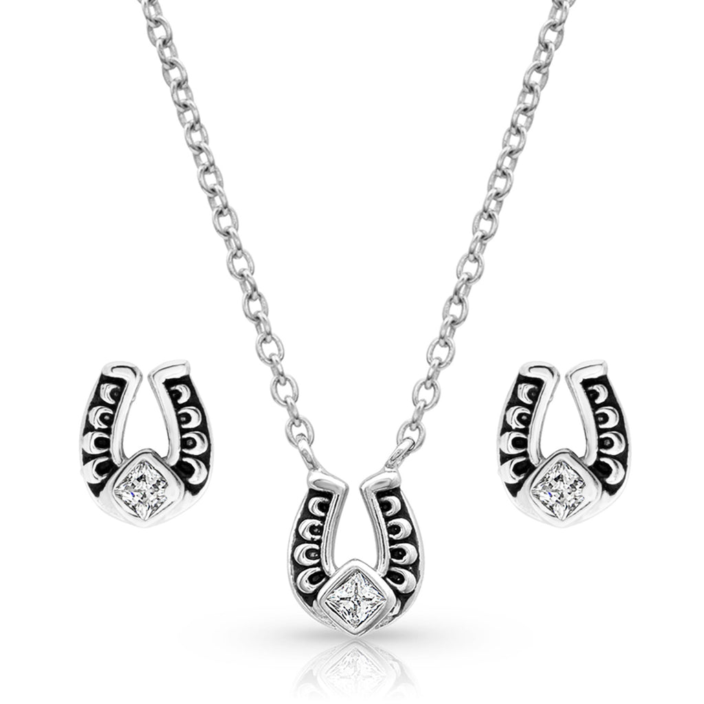Montana Silver Keep A Little Luck Jewelry Set