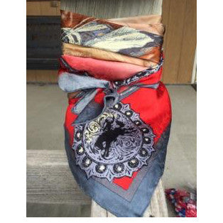 Wyoming Traders Red Anniversary Wild Rag