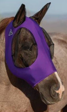 Purple Pony Comfort Fly Mask
